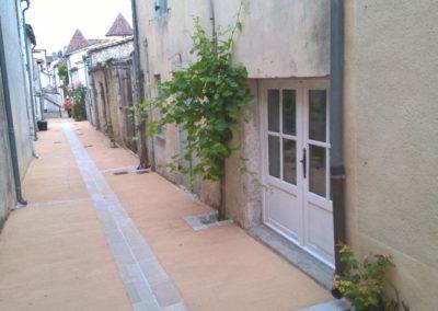 Aménagement de Carreyrous et rues Eymet (24)
